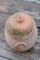 Large Earthenware Lidded Storage Jar (7 of 10)