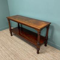 Spectacular Victorian Mahogany Antique Console Table (7 of 8)