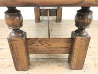 Vintage Solid Oak Low Occasional Table (6 of 7)