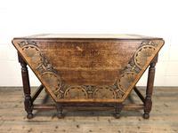 Early 20th Century Oak Gateleg Table (2 of 12)