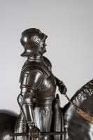 Very Large Stunning 19th Century Equestrian Bronze Sculpture of Bartolomeo Colleoni (9 of 20)