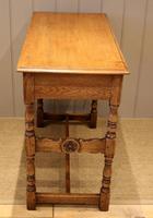 Light Oak Hall Table (5 of 11)