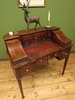 Antique 19th Century Carlton House Desk Mahogany Writing Table of Immense Character (30 of 30)