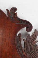 Small Georgian Mahogany Fretwork Mirror (6 of 13)