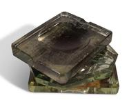Deco Glass Ashtrays (4 of 5)