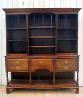 Early 20th Century Oak Dresser (8 of 9)