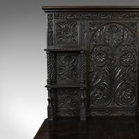 Antique Charles II Revival Dresser, English, Oak, Sideboard, Victorian c.1880 (8 of 10)