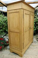 Big Old Victorian Pine Double Knock Down Wardrobe - We Deliver/ Assemble! (4 of 17)