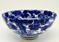 Antique Porcelain Chinese Blue & White Bowl (3 of 6)