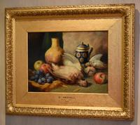 Superb still life oil painting by Richard Ansdell RA (6 of 8)