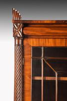 Regency Period Mahogany Bookcase with Matching Flared Panels to the Bottom Doors (3 of 6)