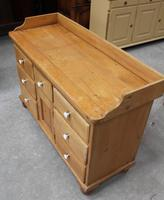 1900's Quality Country Pine Dog Kennel Dresser Base (4 of 5)