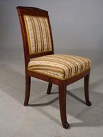 Good Mid 19th Century French Mahogany Framed Single Chair (2 of 4)