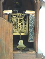 Rare Cuckoo Mantel Clock – German Black Forest Carved Bracket Clock (9 of 12)