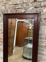 Antique Mahogany Large Mirror (3 of 4)