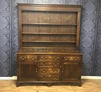 Georgian Period Oak Welsh Dresser (15 of 25)