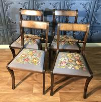 Set of Four Regency Style Dining Chairs by Gill & Reigate (2 of 12)