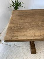 Large French Oak Farmhouse Refectory Dining Table (7 of 10)