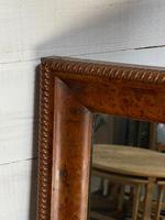 19th Century French Burr Walnut Wall Mirror (11 of 19)