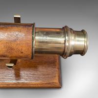 Antique Terrestrial Telescope, English, Single Draw Refractor, Nsl, Victorian (12 of 12)