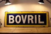 Large Antique Bovril Vitreous Enamel Sign (3 of 13)