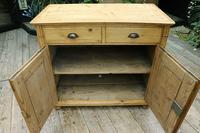 Old Georgian Pine Dresser Base / Sideboard / Cupboard / Cabinet - We Deliver! (8 of 10)