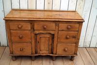 19th Century Pine Dresser Base (7 of 14)