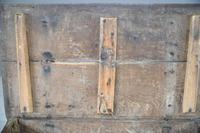 Antique Rustic 18th Century Oak Side Table (9 of 11)