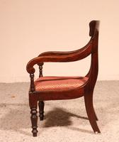 Small Child Chair from 19th Century in Mahogany- England (7 of 8)