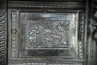 17th Century Oak Press Cupboard (5 of 8)