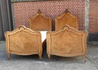 Pair of French Walnut Single Beds