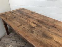 Large Antique French Fruitwood Farmhouse Table (14 of 19)