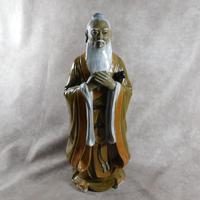 Large Shiwan (Shekwan) Ware Figure of Confucious Kong zi (2 of 7)