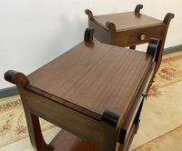 Vintage French Mahogany Bedside Tables (10 of 14)