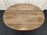 Large Bleached Oak Coffee Table (11 of 11)