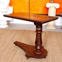 Portable Adjustable Writing Desk 19th Century Mahogany (10 of 12)
