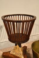 19th Century Dutch Mahogany Ice Bucket on Stand (4 of 7)