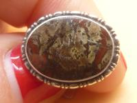 Sterling Silver & Agate Cufflinks (7 of 7)