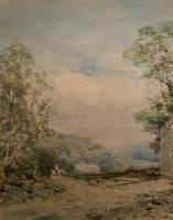 William Charles Goddard Near Saltash Cornish Landscape Painting (7 of 14)