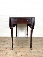 Antique Regency Mahogany Pembroke Table (4 of 10)