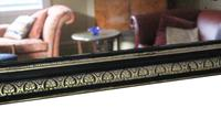19th Century ebonised and gilt mirror overmantle wall (9 of 9)