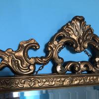 Victorian Gesso Wall Mirror (7 of 19)