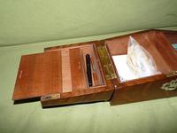 Solid Figured Oak Games Box + Accessories c.1890 (15 of 18)