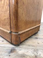 Antique Satinwood Chest of Drawers (9 of 10)