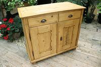 Old Georgian Pine Dresser Base / Sideboard / Cupboard / Cabinet - We Deliver! (3 of 10)