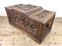 Early 20th Century Carved Camphor Trunk (8 of 14)