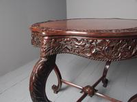 Unusual Anglo-Indian Hardwood Occasional Table (7 of 11)
