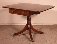 Small Pembroke Table 19th Century in Mahogany (8 of 12)