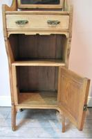 Antique Pine Slim Vanity Unit (5 of 7)