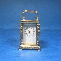 Victorian Miniature Brass Carriage Clock (11 of 11)